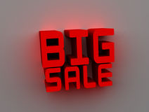 Sale. Big sale image for shopping Stock Photo