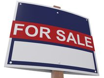 For Sale board Royalty Free Stock Image
