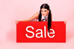 Sale board Royalty Free Stock Photography
