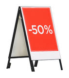 Sale board Stock Image