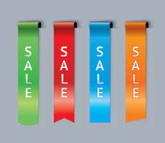 Sale bookmarks Stock Images
