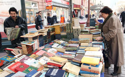 Sale of books Stock Photography