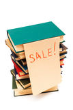 Sale of books Stock Photo