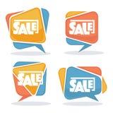 Sale bubbles Royalty Free Stock Photos