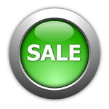Sale button Stock Image