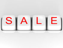 Sale Button Royalty Free Stock Images