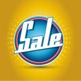 Sale button Stock Image