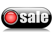 Sale button Stock Images