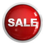 Sale button Royalty Free Stock Image