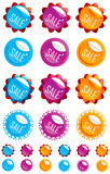 Sale buttons Royalty Free Stock Photography