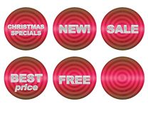 Sale buttons Royalty Free Stock Photo