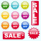 Sale Buttons Royalty Free Stock Photos