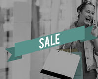 Sale Buying Commerce Retail Shopping Spending Concept Royalty Free Stock Image