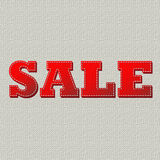 Sale canvas Stock Photography