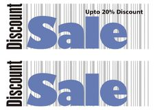 Sale Caption - 1. Sale Announcement Mast for promotional campaigns Royalty Free Stock Images