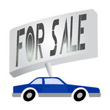 For sale car Stock Photos