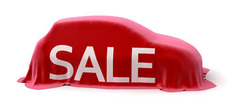 Sale car Royalty Free Stock Photos