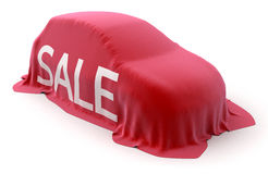 Sale car Stock Photography