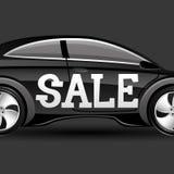 Sale car. Royalty Free Stock Photo