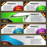 Sale Cards Vector Royalty Free Stock Images