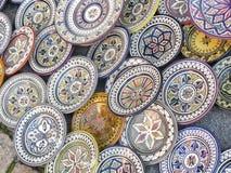 Sale of ceramic of Morocco. Stock Photo