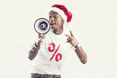 Sale. Christmas, holidays and people concept royalty free stock images