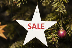 Sale after Christmas Royalty Free Stock Image