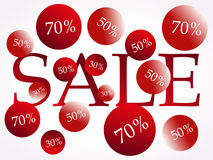 Sale Clearance. Vector Illustration of clearance Stock Illustration
