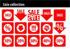 Sale collection Royalty Free Stock Photos