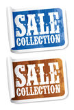 Sale collection stickers Stock Photos