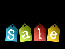 Sale colors Royalty Free Stock Images