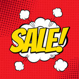 Sale comic Stock Photos