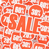 Sale composition Stock Photography