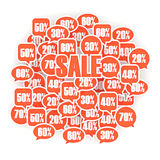 Sale composition Royalty Free Stock Images