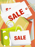 Sale Concept. Editable illustration of a Sale Concept stock illustration