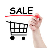 Sale concept Stock Image