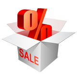 Sale concept. Royalty Free Stock Photography