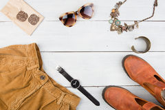 Sale concept - set of cool woman stuff  Stock Image