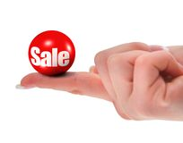Sale concept, shallow DOF Royalty Free Stock Photo