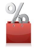 Sale concept shopping bag Stock Photos