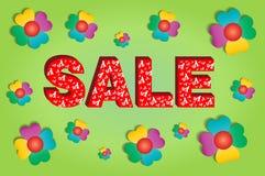 Sale concept for spring or summer season. Stock Photo