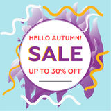 Sale copy Royalty Free Stock Images