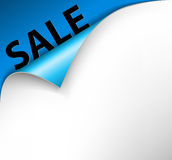 Sale corner background Stock Photography