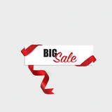 Sale Coupon, voucher, tag design. Vector illustration Royalty Free Stock Photo