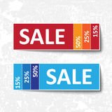 Sale coupons Royalty Free Stock Photo