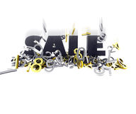 Sale Crash Royalty Free Stock Images