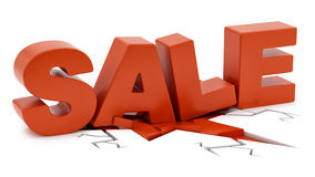 Sale crushing ground Stock Photos