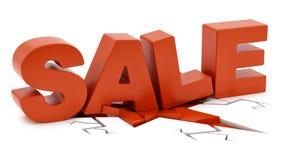 Sale crushing ground Stock Photos