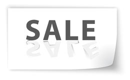 Sale cut from paper, background Royalty Free Stock Photos