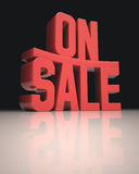 On Sale Stock Photography